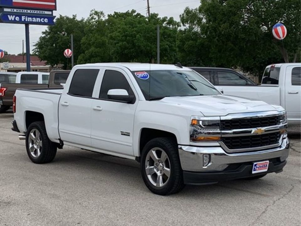 Used 2017 Chevrolet Silverado 1500 Lt Crew Cab 2wd For Sale Auto Usa